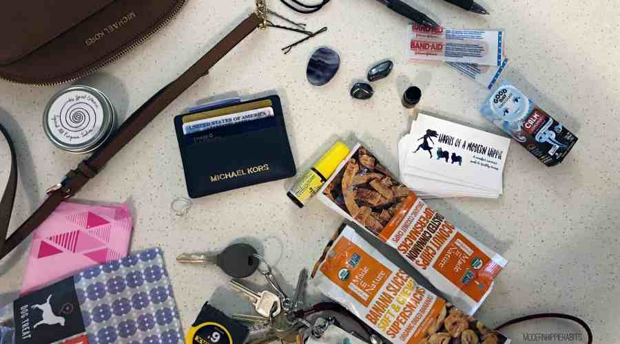 What's In My Bag: Anxiety Edition