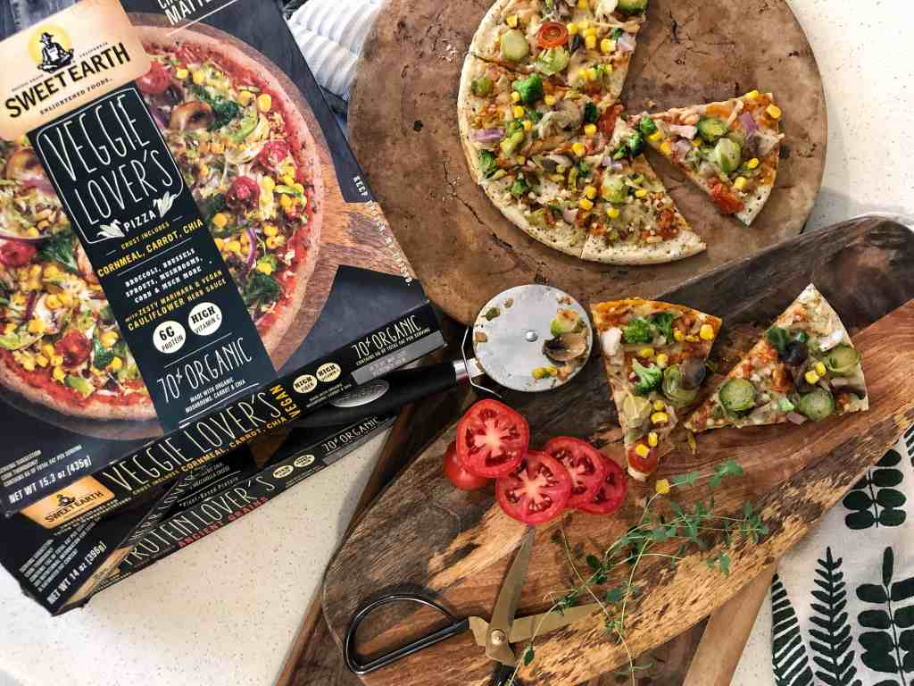 Sweet Earth Foods Frozen Pizza