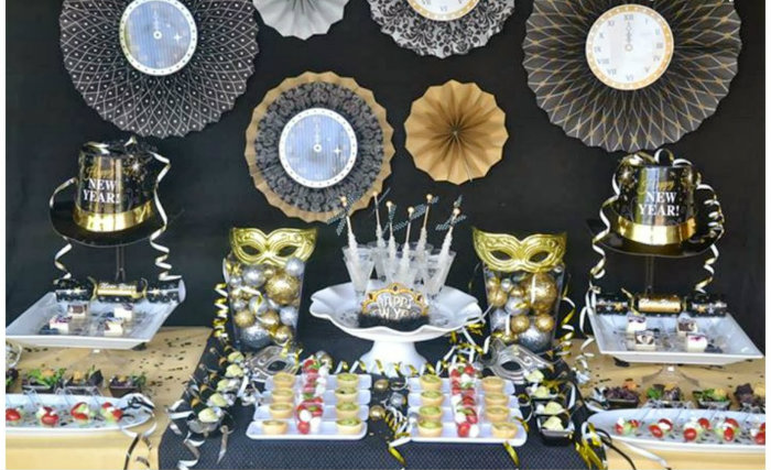 Ideas For New Year Eve Party Modern Home Decor