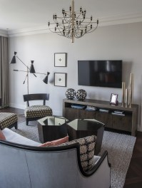 Modern Apartment in Kiev Mix Art Deco and American Style ...