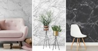Marble Wallpaper For Your Modern Home | Modern Home Decor