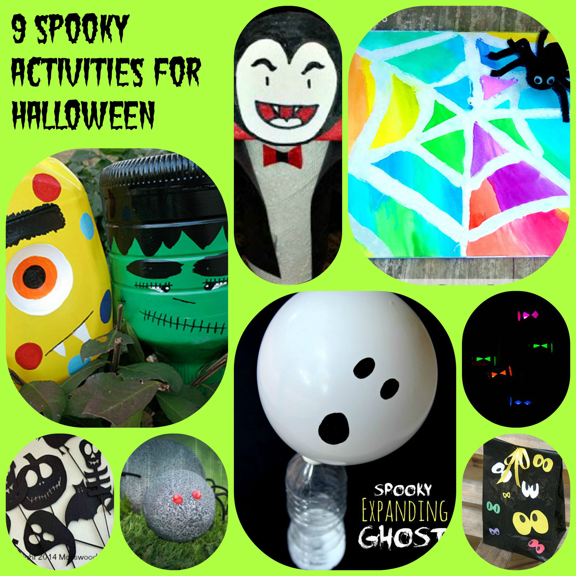 Free Halloween Printable Activity Sheets