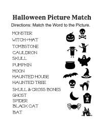 Free Printable Halloween Activity Sheets for Elementary ...