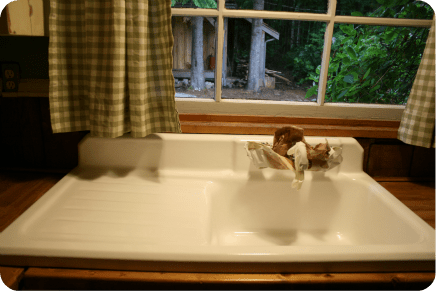 refinished cast iron sink