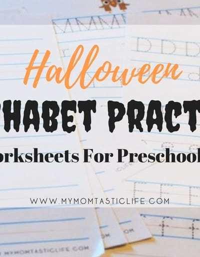 Halloween Alphabet Practice - My Momtastic Life