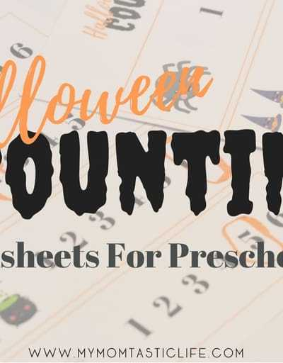 Halloween Counting Worksheets - My Momtastic Life