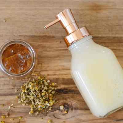 DIY Face Wash – Honey Chamomile