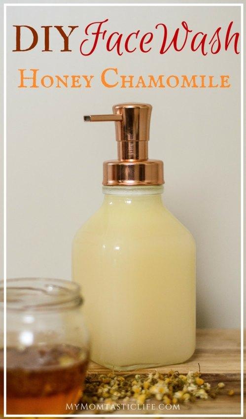 DIY Face Wash - Honey Chamomile Facewash