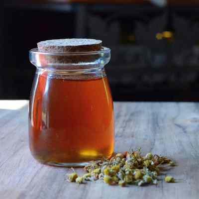 Honey Chamomile Simple Syrup Recipe