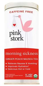 Morning Sickness Ginger Peach Nausea Tea