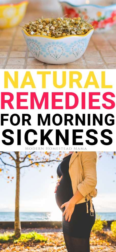 10 Natural Remedies For Morning Sickness
