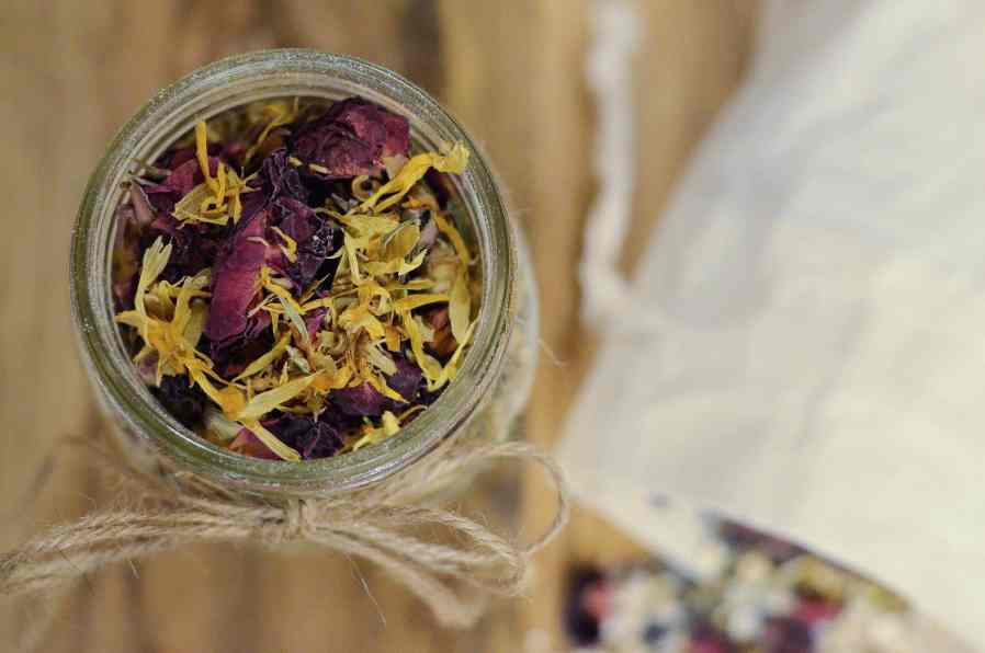 DIY Herbal Baby Bath