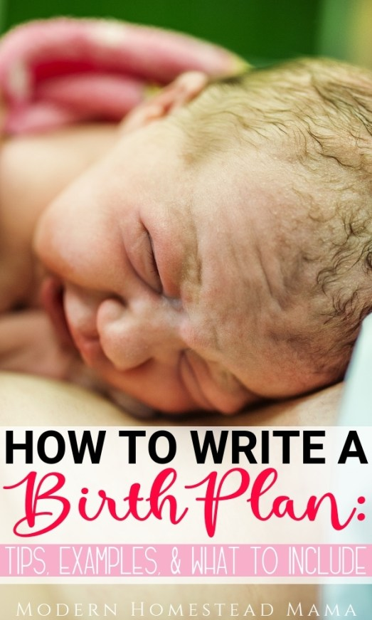 How To Write A Birth Plan: Tips, Examples, & What To Include