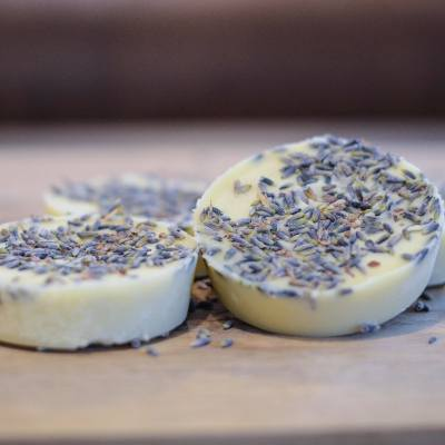 DIY Lavender Bath Melts