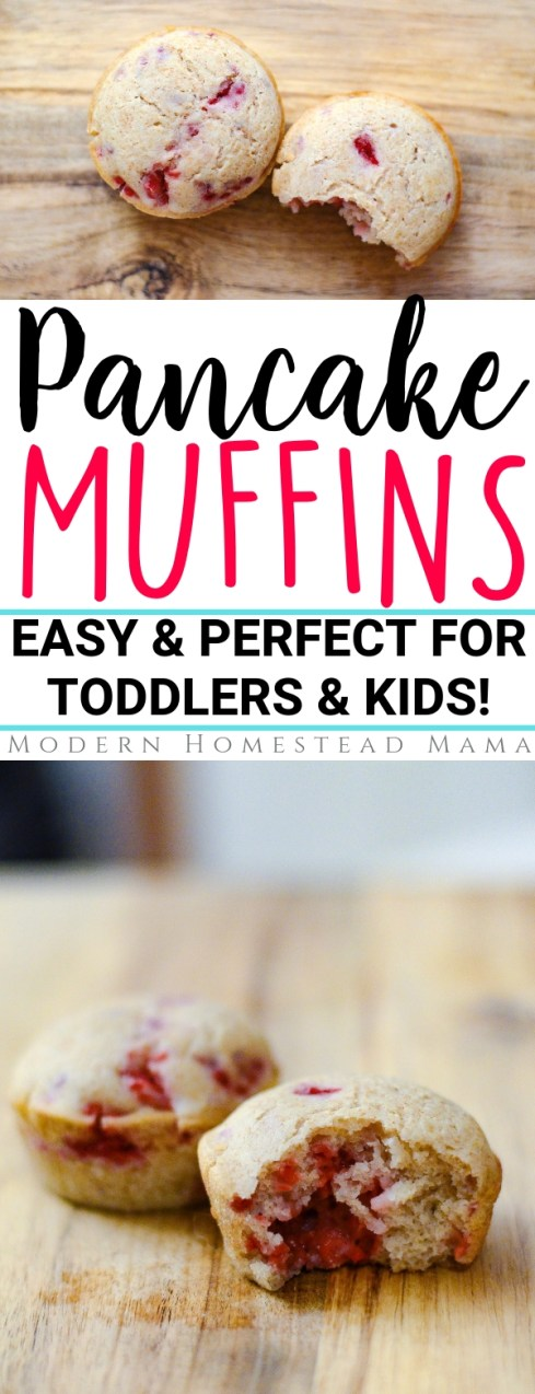 Pancake Muffins (Easy & Perfect For Toddlers & Kids) | Modern Homestead Mama
