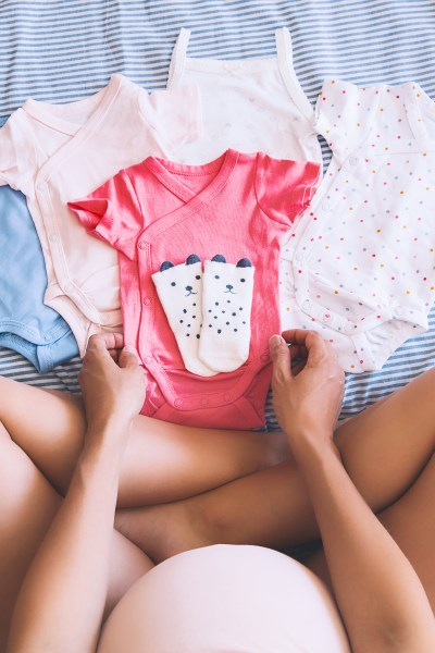 Preparing for Baby - Folding Baby Clothes