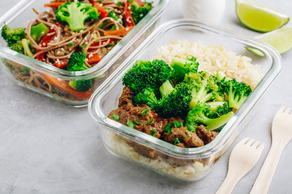 Meal Prep Before Baby Comes - Beef and Broccoli