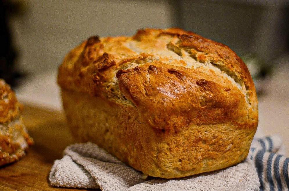 No Knead Bread with No Sugar