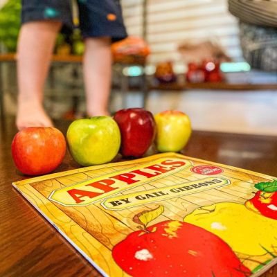 Books about Apples for your Preschool Apple Unit Study