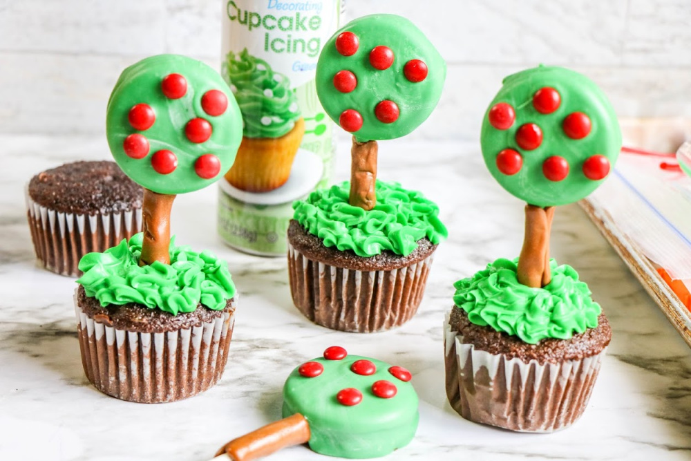 Apple Tree Cupcakes