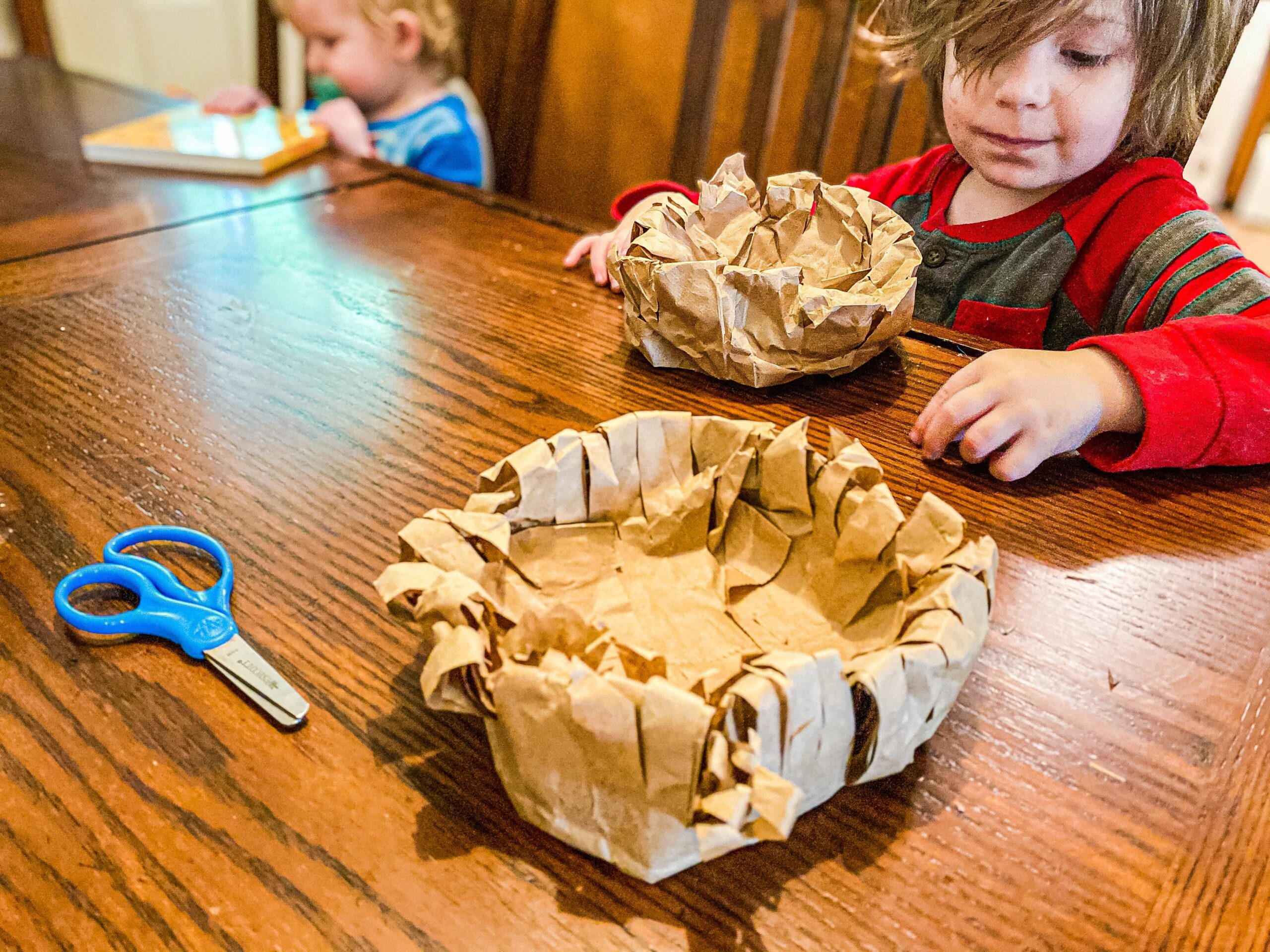 How to Make a Paper Bag Nest Craft for Preschoolers