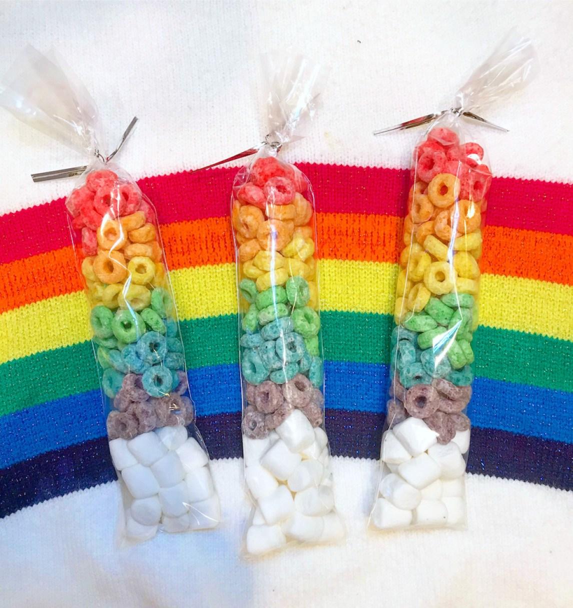 Rainbow Snack Bags
