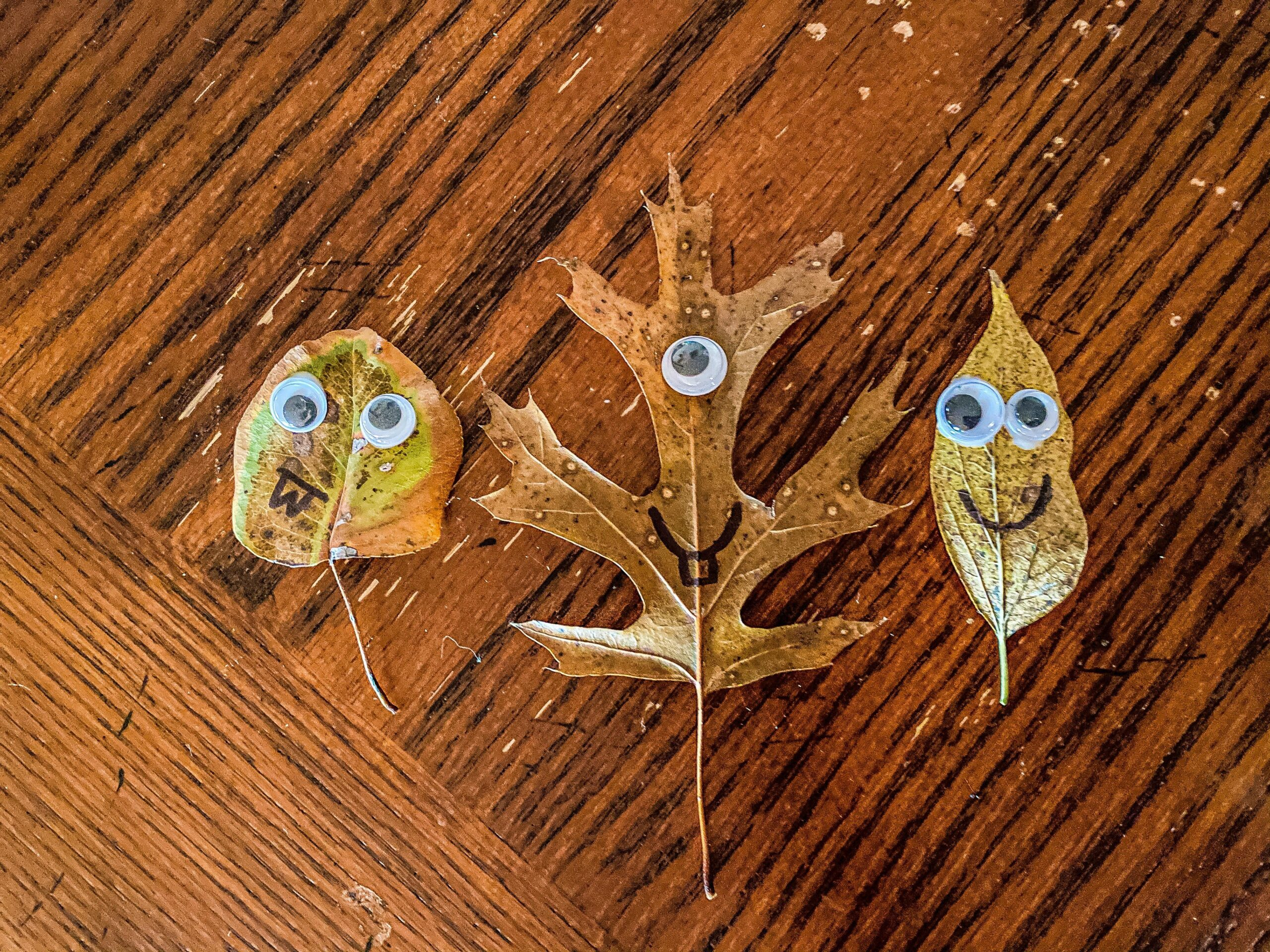 Leaf People Autumn Craft for Kids