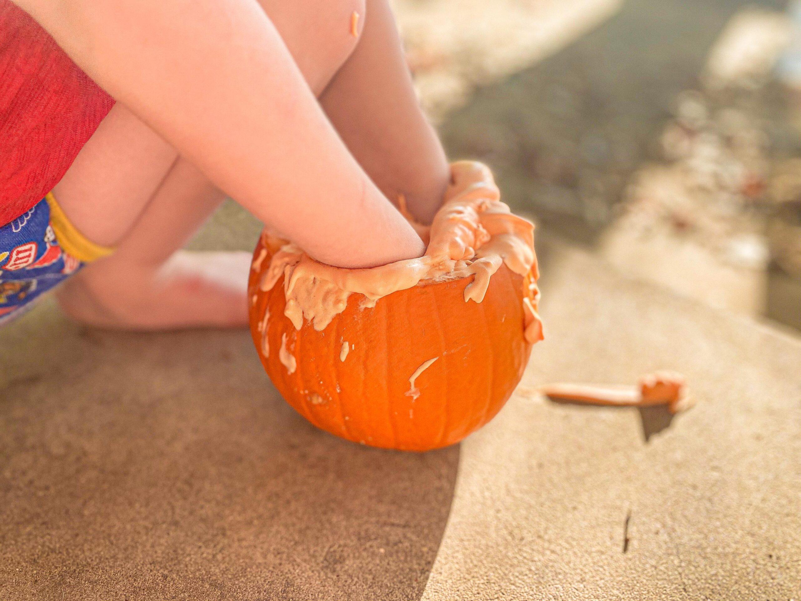 Fluffy Pumpkin Slime