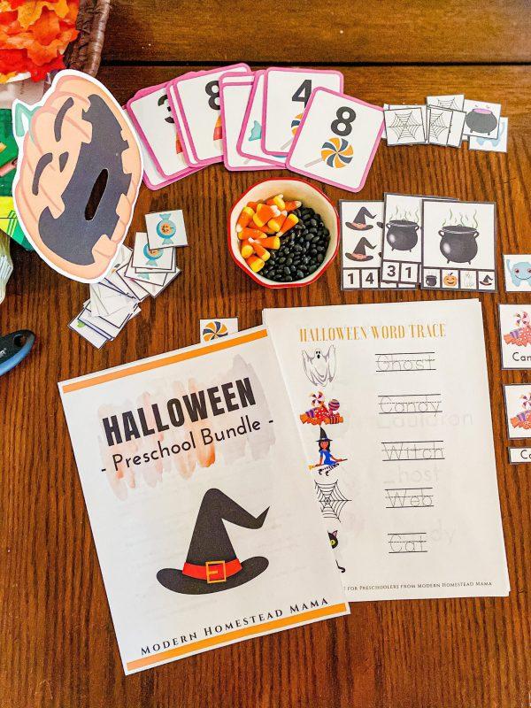Halloween Preschool Bundle