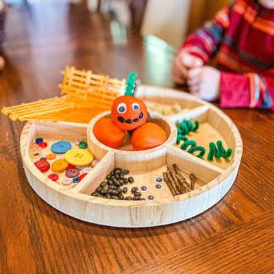 Pumpkin Patch Invitation to Play Activity