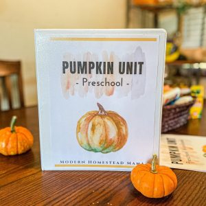 Pumpkin Preschool Unit