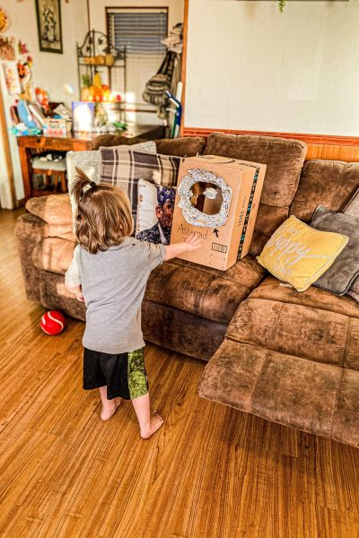 Asteroid Toss Activity for Toddlers & Preschoolers