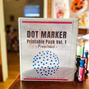 Dot Marker Pack for Toddlers & Preschoolers Volume 1