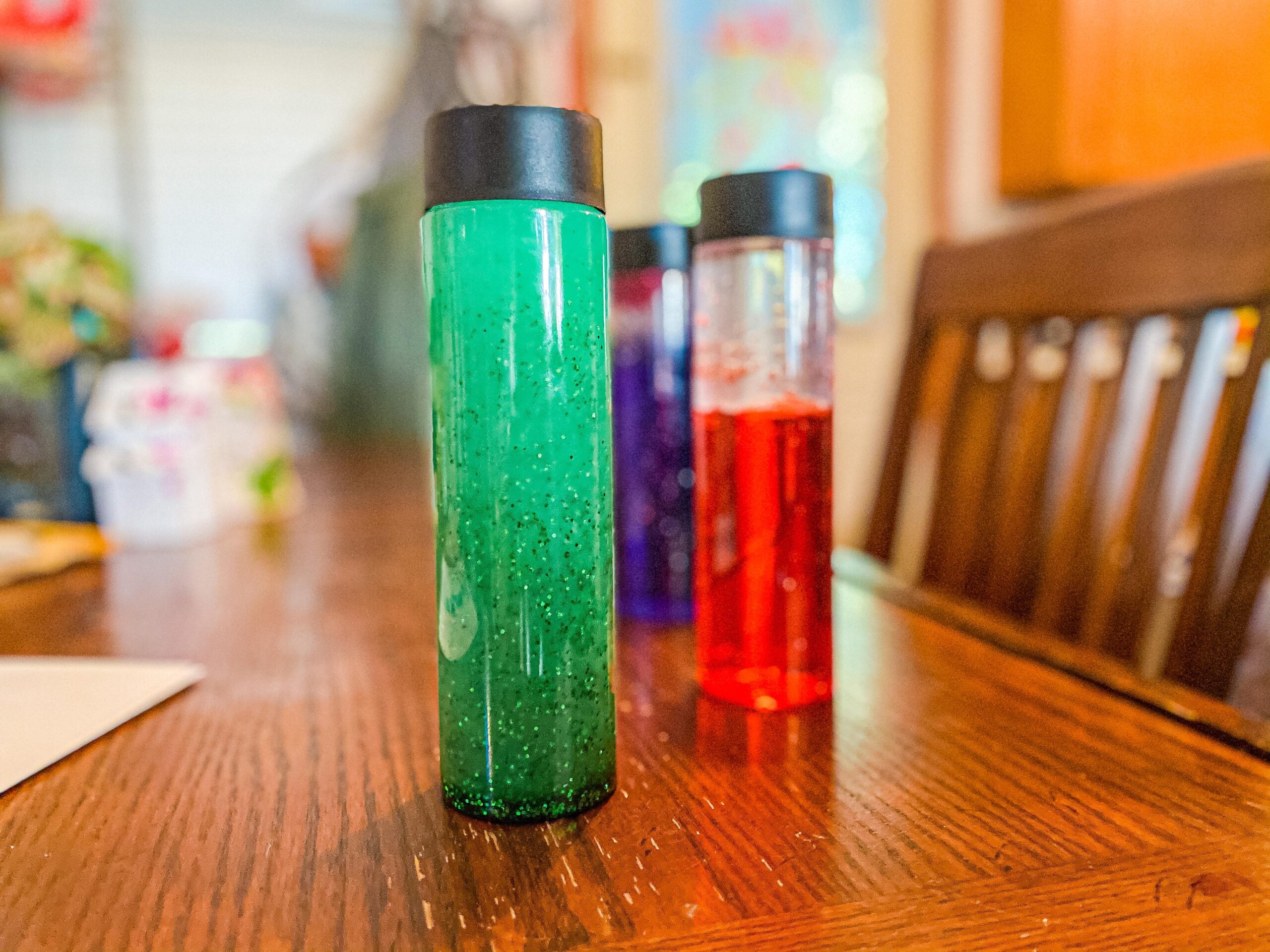 Easy Sensory Bottles for Toddlers & Preschoolers