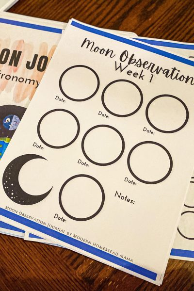 Moon Observation Journal - Astronomy Study