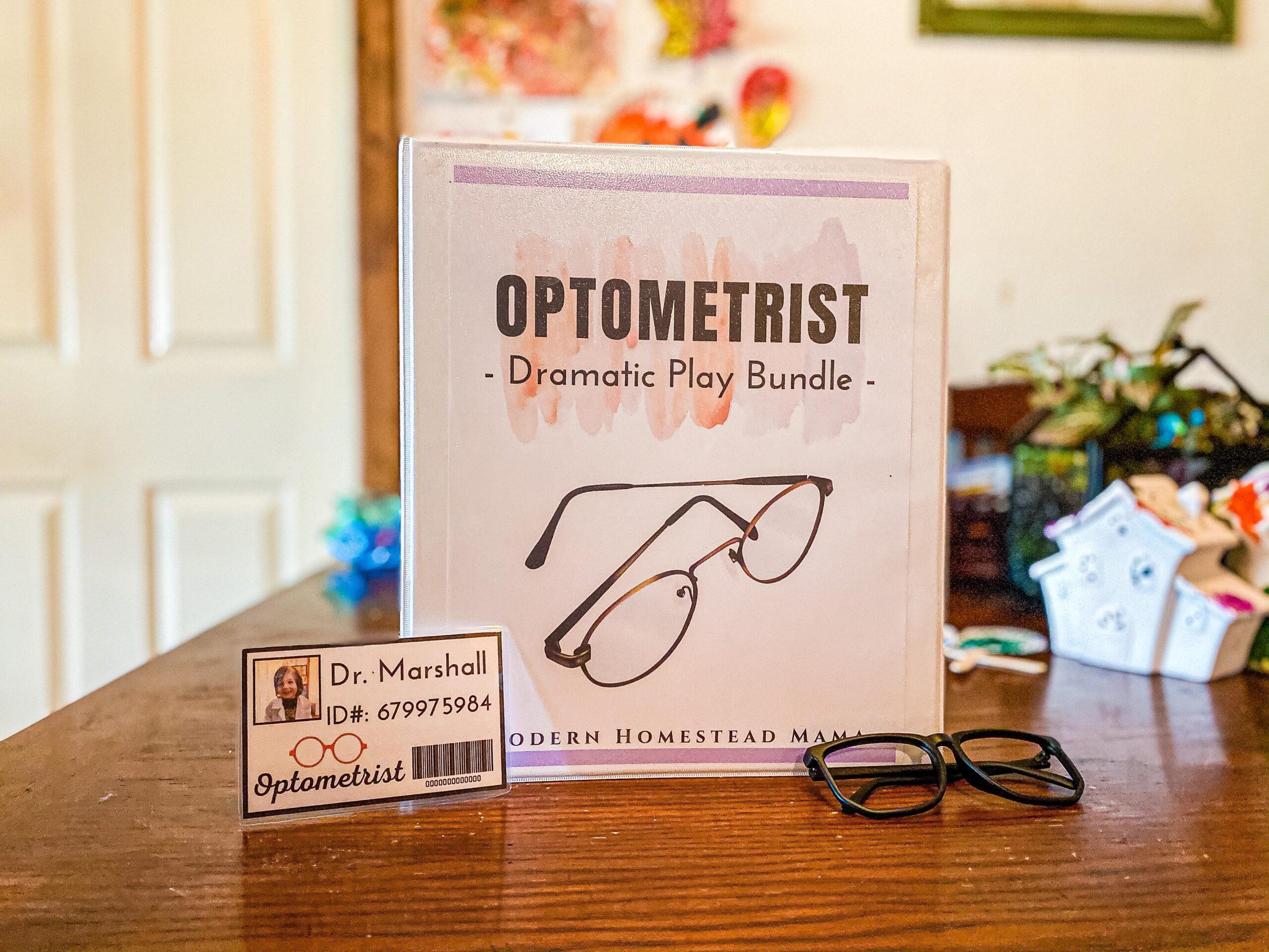 Optometrist Dramatic Play Bundle