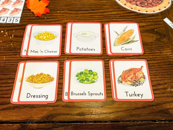 Thanksgiving Food Memory Game