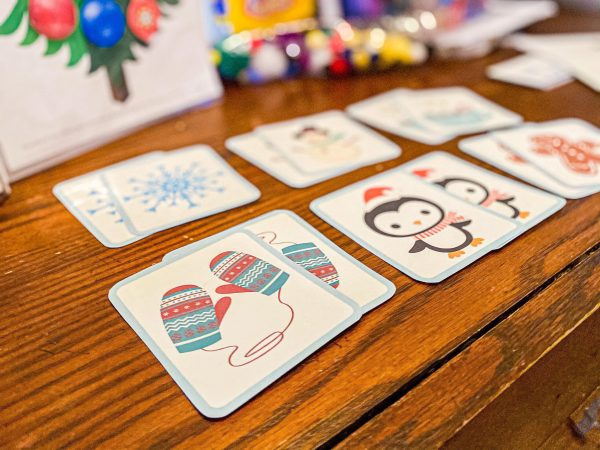 Winter Matching Toddler Game