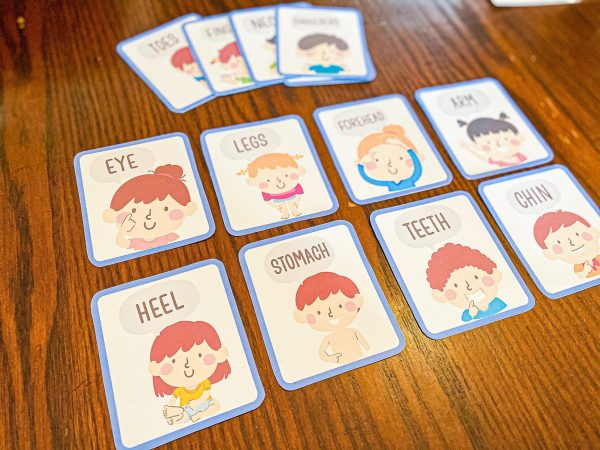 Body Part Flashcards for Preschoolers | Free Printable