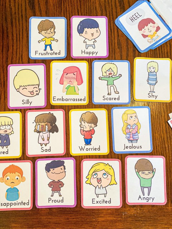 Emotion Flashcards Printable for Preschoolers