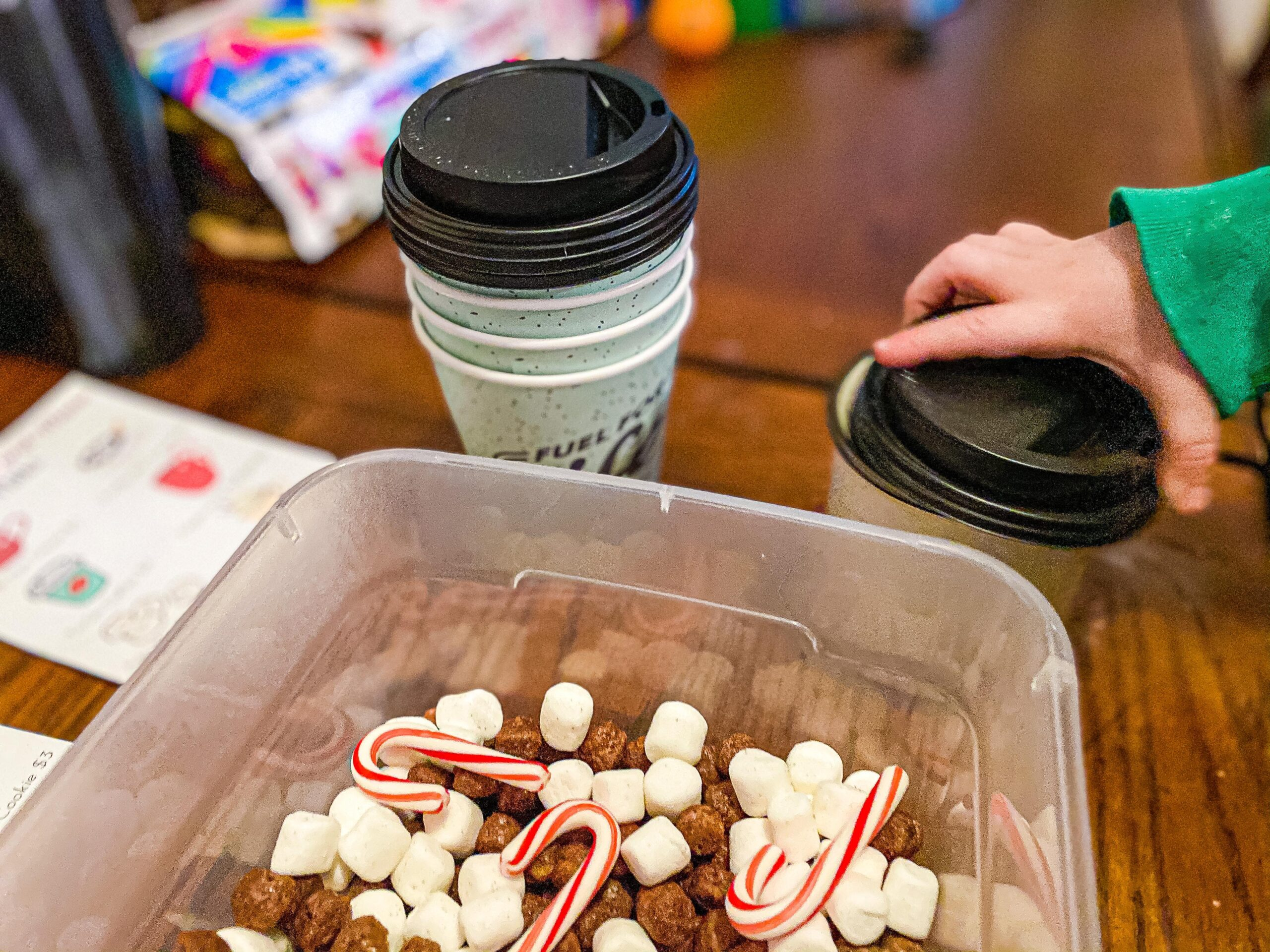 Hot Chocolate Sensory Bin for Toddlers and Preschoolers