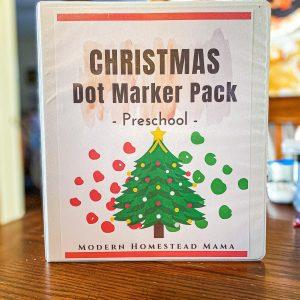 Christmas Dot Marker Pack