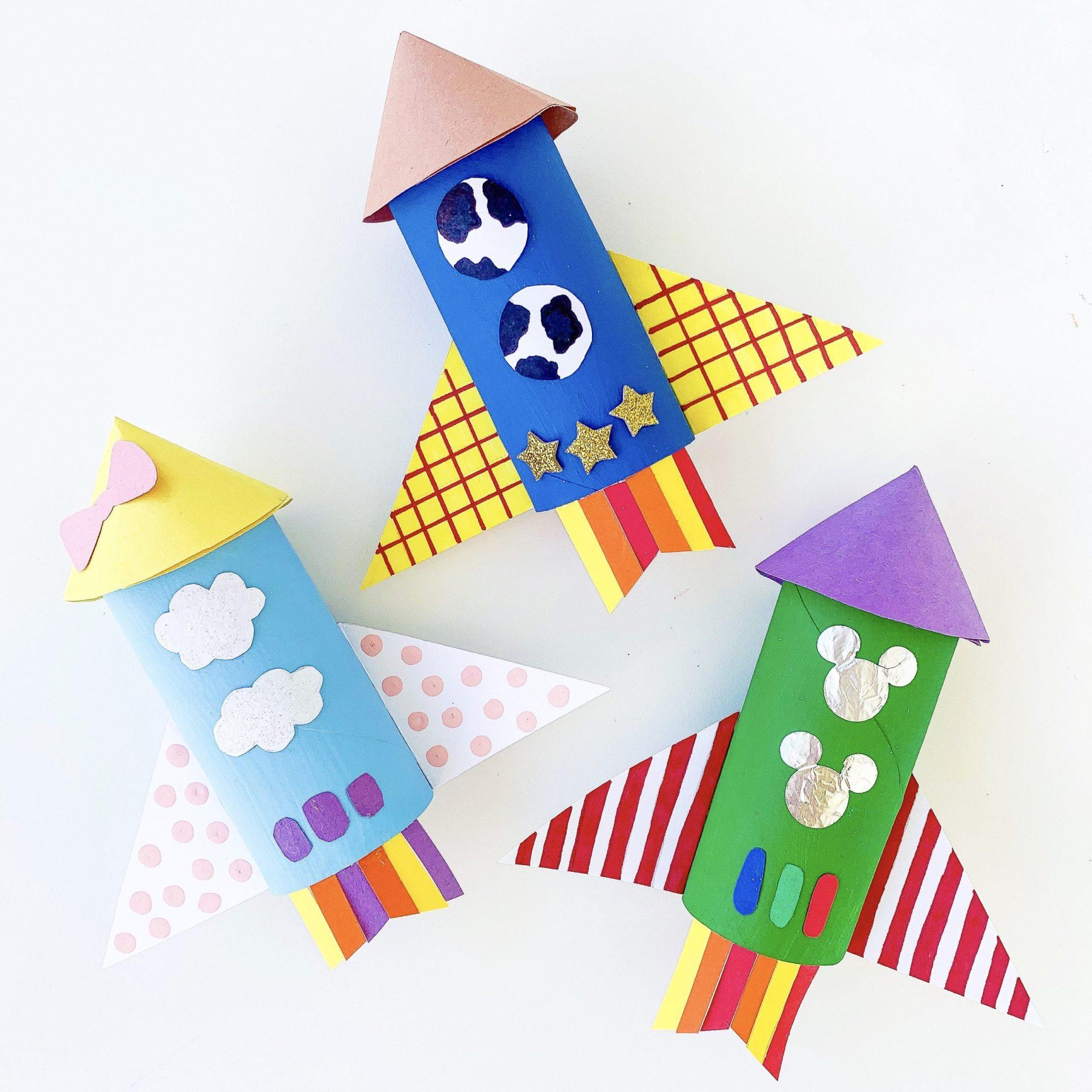 Toy Story Inpsired Rocket Ship Craft