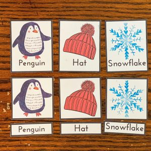 Winter 3-Part Cards