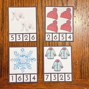 Winter Count and Clip Cards