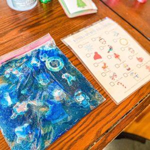Winter I-Spy Busy Bag Preschool Printable