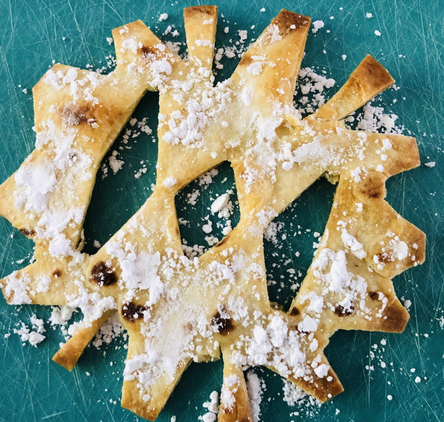 Snowflake Tortilla Treats