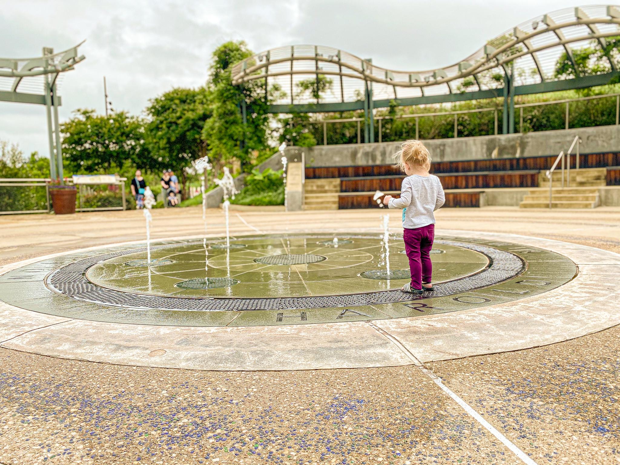 Dallas Arboretum Children's Garden Trip