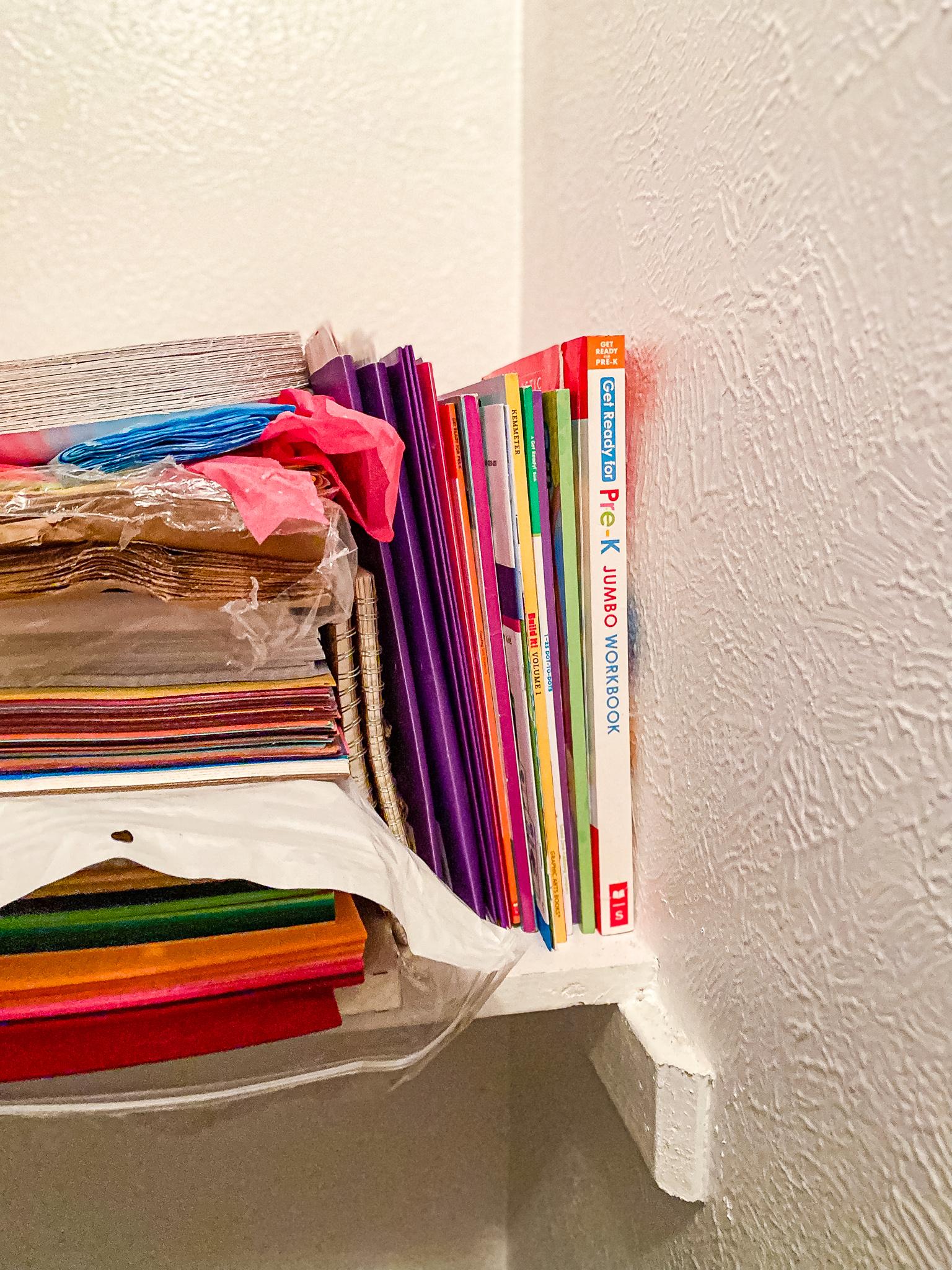 Easy to grab Homeschool Materials