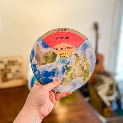 Layers of the Earth Craft Science Printable for Kids